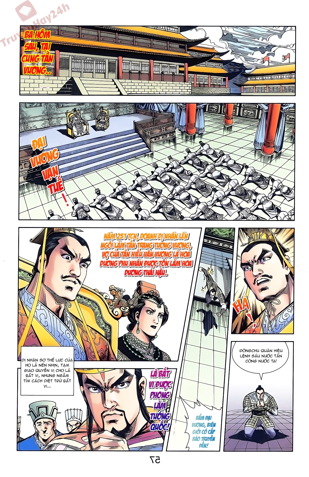 Tần Vương Doanh Chính chapter 44 trang 9