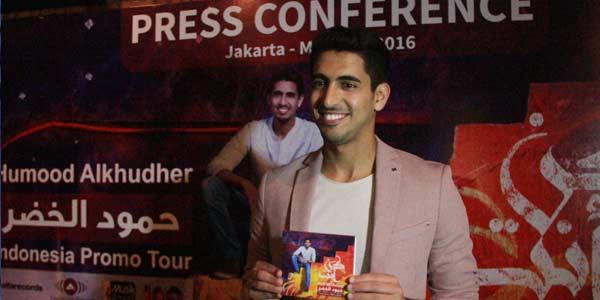 Penyanyi Kuwait Kenalkan 'Kun Anta' di Indonesia