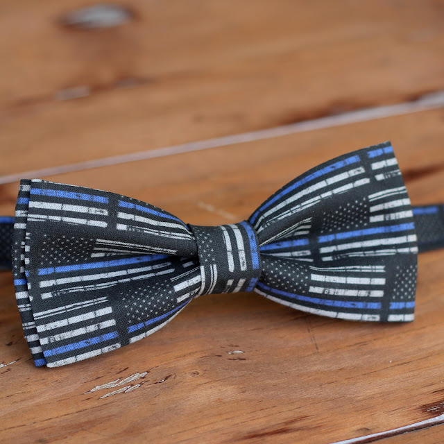Because I'm Me law enforcement support bow tie