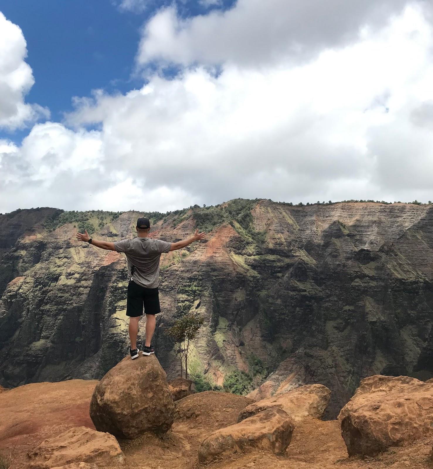 Waimea Canyon Hike | Hiking to Waipoo Falls | A Memory Of Us | Kauai To Do List