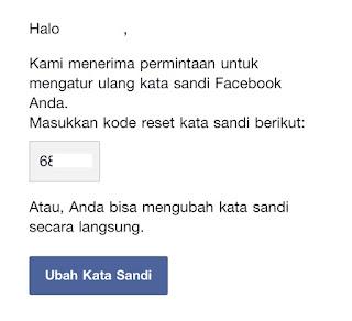 lupa password akun facebook