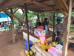 imbau Protokol Kesehatan, TNI-POLRI Gelar Operasi Yustisi Di Objek wisata Gowa Pasolatan Tersono