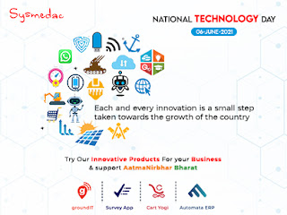 Wishing everyone a connected National Technology Day!!!