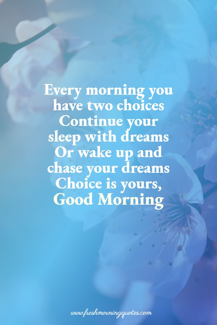 every morning good morning quotes