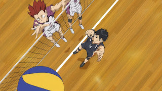ハイキュー!! アニメ 3期2話 影山飛雄 | Karasuno vs Shiratorizawa | HAIKYU!! Season3