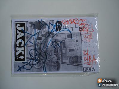 imagen de fanzine Hustler Neo Graffiti Magazine