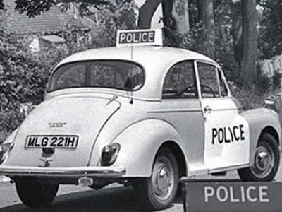 Police car 1950s