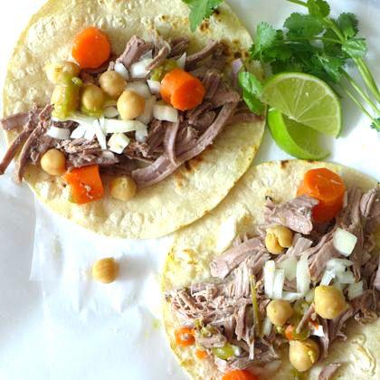 Slow-Cooker Barbacoa Tacos