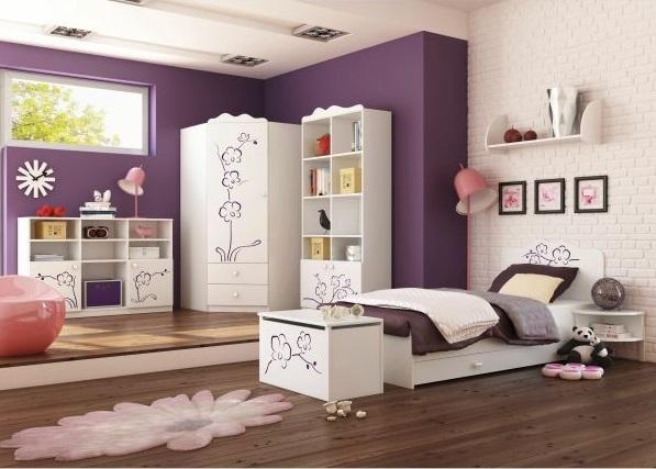 Dormitorios morados para chica dormitorios colores y estilos for Jugendzimmer colours