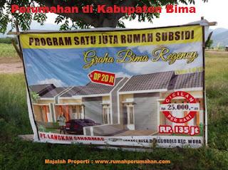 Perumahan Murah di Bima, Perumahan subsidi di Kabupaten Bima