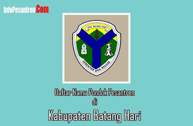 Pesantren di Kabupaten Batang Hari