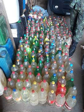 Contrabando: Combustível e maços de cigarros são apreendidos por policiais do BPA