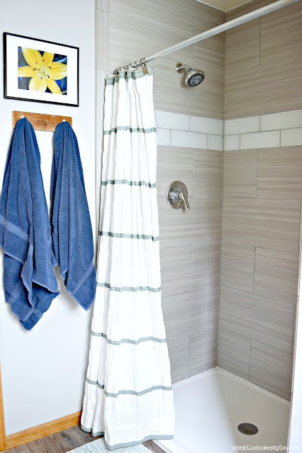 Rustic Modern Bathroom Makeover