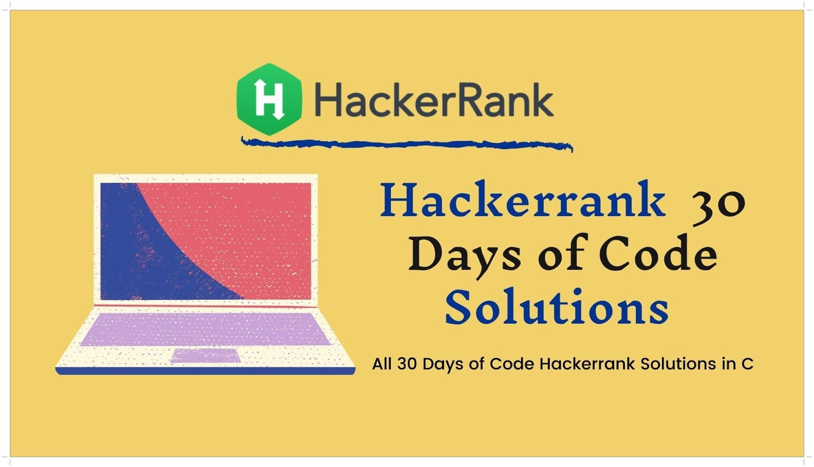 Hackerrank 30 Days of Code Solutions in C Language