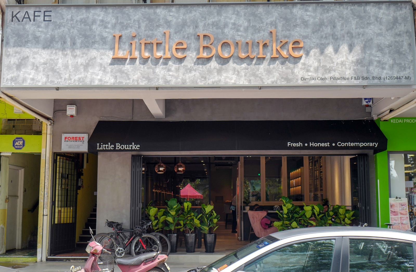 little bourke, ttdi