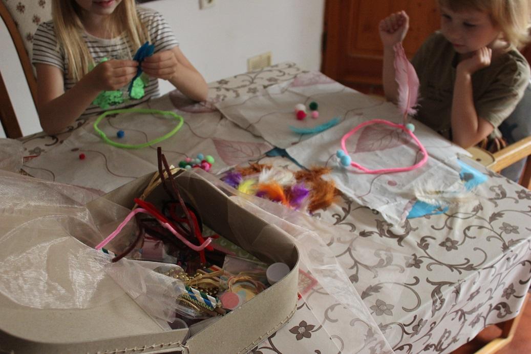 Svobodné dětské tvoření a můj kreativní box