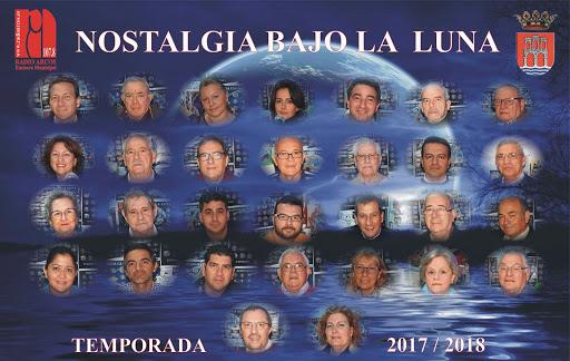 FOTOS INVITADOS NOSTALGIA BAJO LA LUNA DE RADIO ARCOS  2007-2020
