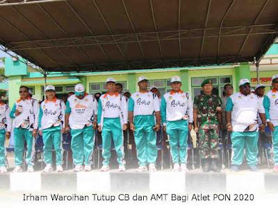 Irham Waroihan Tutup CB dan AMT Bagi Atlet Papua pada PON XX 2020