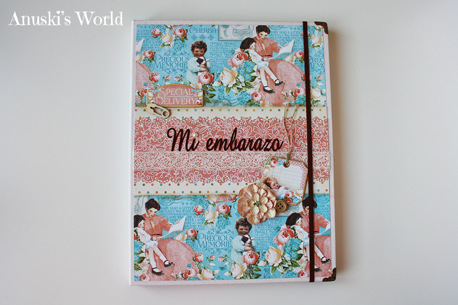 Mi portadocumentos de embarazo - Anuski´s World