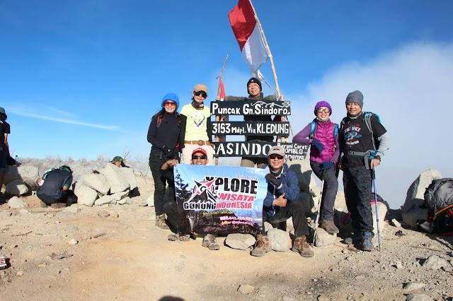 Paket Trekking Gunung Sindoro