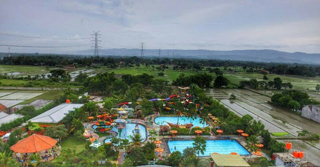 foto peta grand puri waterpark jogja
