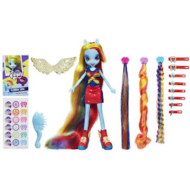 MLP Equestria Girls Original Series Hair Play Rainbow Dash Doll