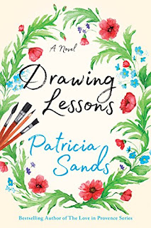 Drawing Lessons - women's fiction book promotion by Patricia Sands
