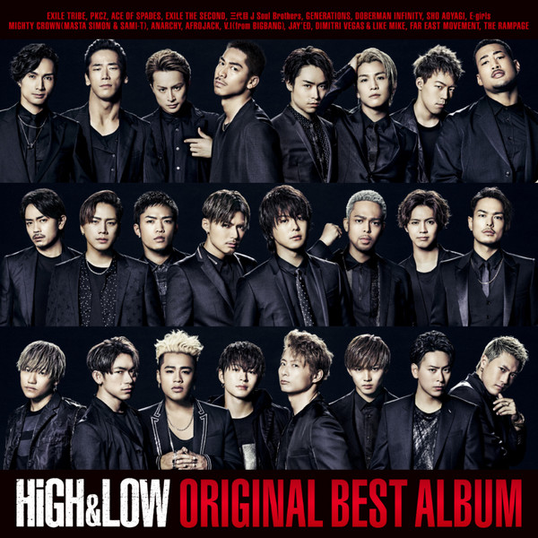 [Album] Various Artists – HiGH & LOW ORIGINAL BEST ALBUM (2016.06.17/MP3/RAR)