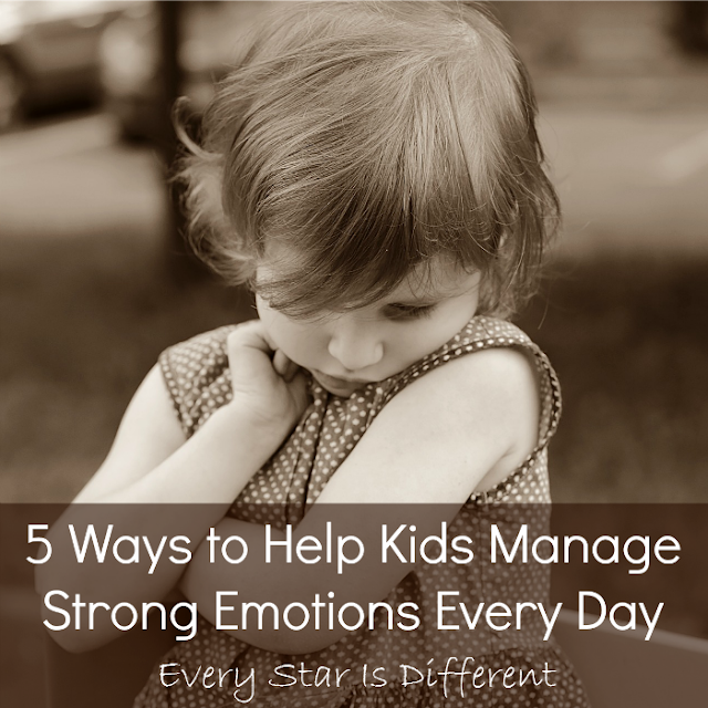 5 ways to help kids manage strong emotions every day