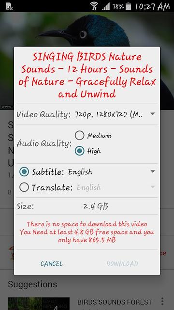 تحميل تطبيق OGYouTube اخر اصدارأفضل تطبيق تحميل من يوتيوب