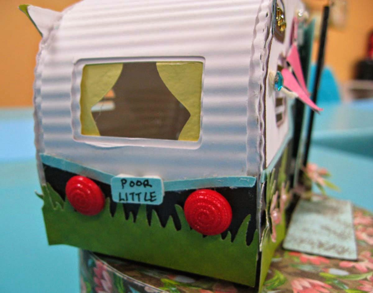 Stampin Hot With Carol: Cool Paper Crafts And A Card