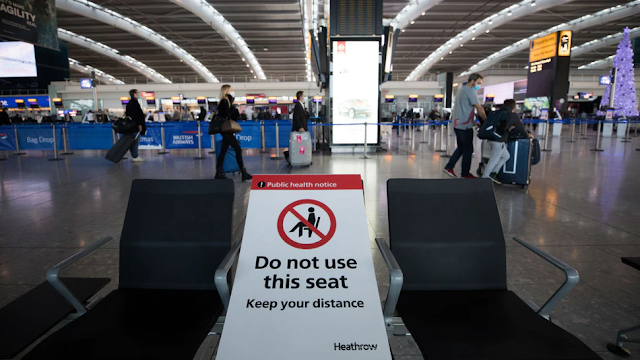 Trump Admin Says Travelers From U.K. Must Test Negative For COVID-19 Amidst New Strain Concerns