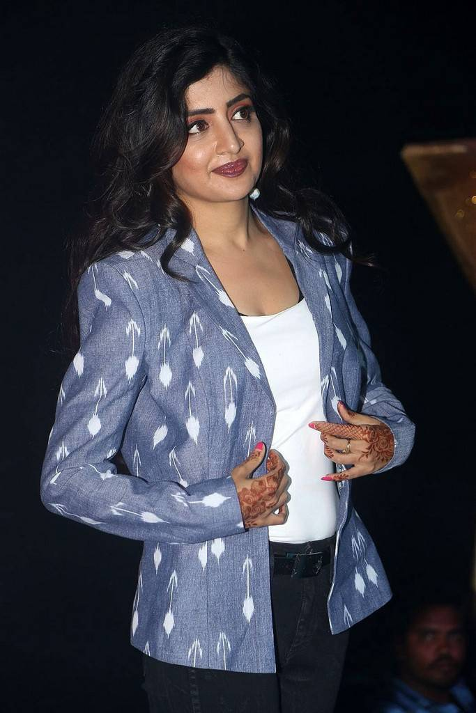 Poonam Kaur At Nakshatram Movie Audio Launch Stills
