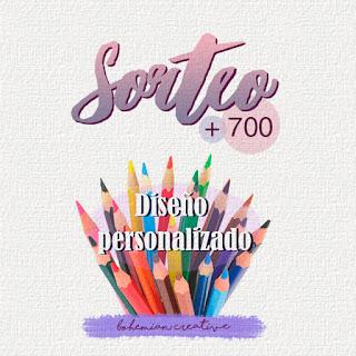 Sorteo +700 seguidores [Bohemian Creative]