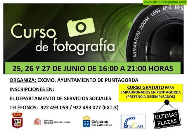 Cursos gratuitos en Puntagorda
