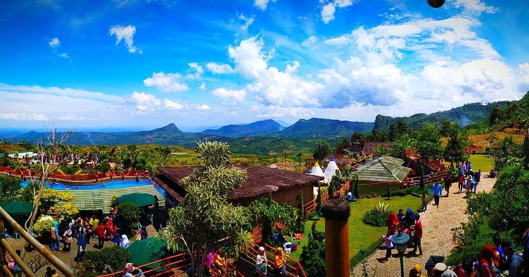 Lokasi Villa Khayangan Bogor