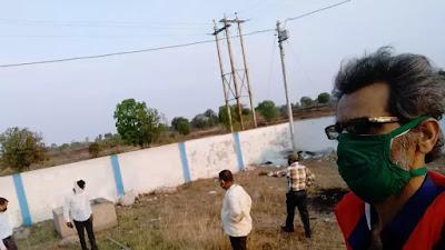 Mandla/ nainpur ऑक्सिजन प्लांट का काम जल्दी शुरु होगा। oxygen plant nainpur