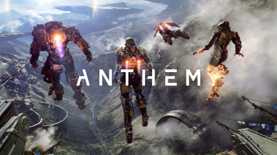 Anthem - Titre Avec 4 Persos - Ultra HD 4K 2160p