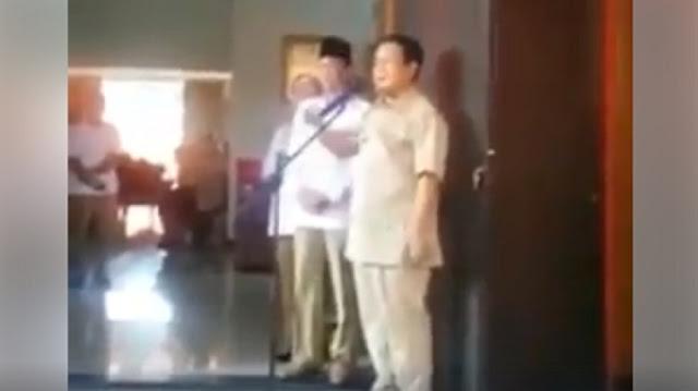 Prabowo: Lebih Baik Mati daripada Berkhianat pada Rakyat!