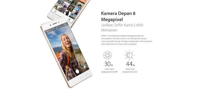 Review OPPO F1, Smartphone Selfie Expert dengan Kamera 13 MP dan 8 MP