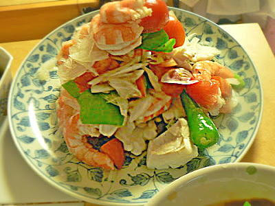 ちょっと豪華な海鮮サラダ
