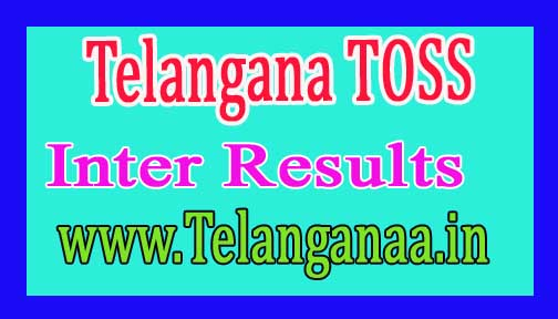 Telangana TOSS Inter Results 2016