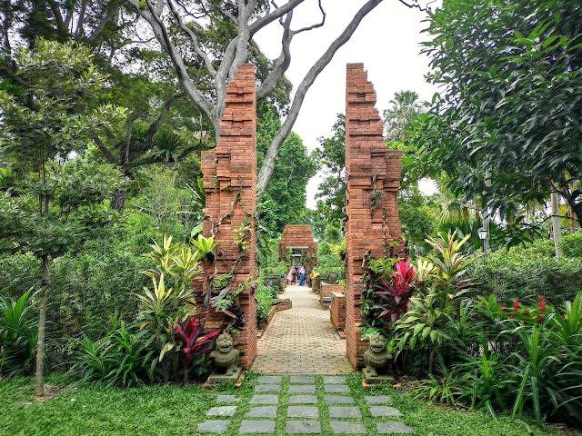 Sang Nila Utama Garden, Fort Canning Park