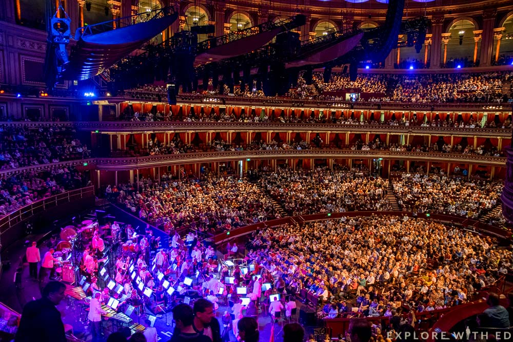 Royal Albert Hall View from Choir Stalls
