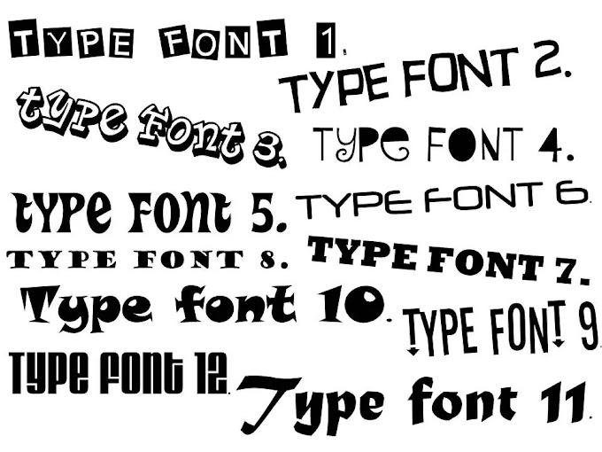 10,000+ Font Collection V.3