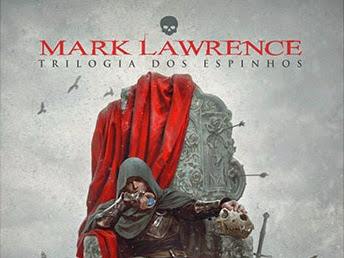 Lançamento de abril da DarkSide Books: King of Thorns de Mark Lawrence