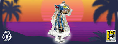 "San Diego Comic-Con 2019 Exclusive Chrome Mecha Godzilla 8"" Vinyl Figure by Kidrobot"