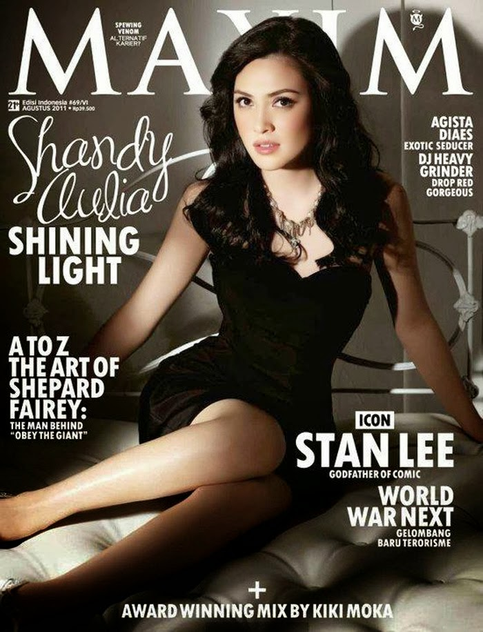 Shandy Aulia Pose for Maxim Indonesia August 2011