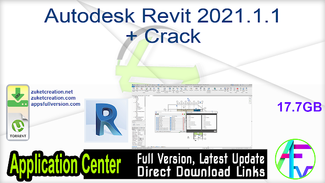 Autodesk Revit 2021.1.1 + Crack
