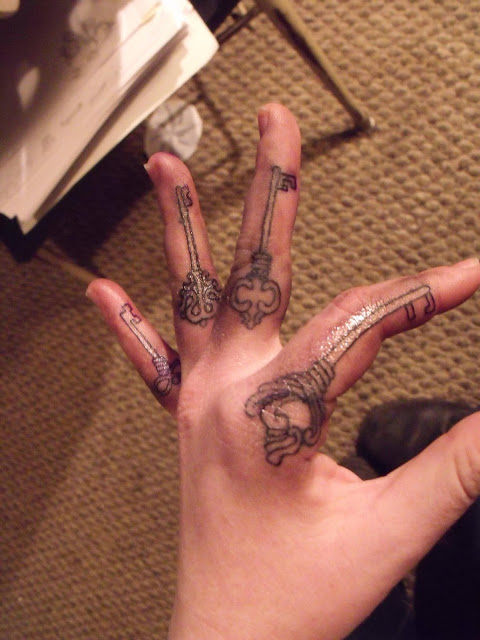 30 Amazing Attractive Finger Tattoo Styles